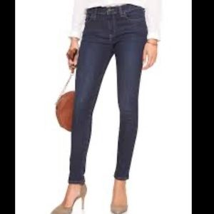 Banana Republic Super Sculpt Dark Wash sz 12P